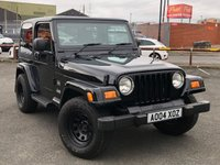 USED 2004 04 JEEP WRANGLER 4.0 SAHARA 3d 174 BHP *STUNNING EXAMPLE, AIR CONDITIONING, CRUISE CONTROL*
