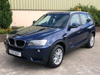 2012 BMW X3 2.0 XDRIVE20D SE 5d 181 BHP £SOLD