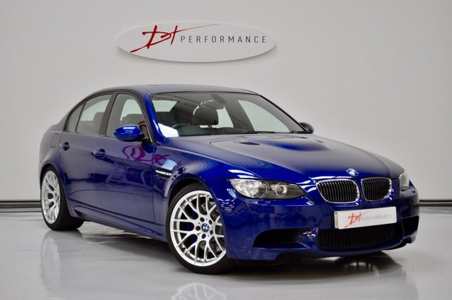 2009 09 BMW M3 4.0 M3 4d 420 BHP LE MANS BLUE MANUAL.