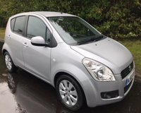 2010 SUZUKI SPLASH 1.2 GLS PLUS 5d AUTO 86 BHP £4355.00