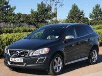 2012 VOLVO XC60 2.4 D4 R-DESIGN NAV AWD 5d AUTO 161 BHP £12795.00