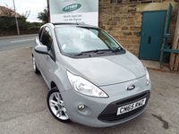 USED 2015 65 FORD KA 1.2 TITANIUM 3d 69 BHP FULL Ford Service History+++ONE Owner++++FULL Black Leather Seats