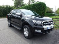 2018 FORD RANGER LIMITED 4X4 DOUBLE CAB AUTOMATIC 3.2 TDCI 200 BHP £25995.00