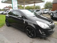 USED 2012 12 VAUXHALL CORSA 1.2 LIMITED EDITION 3d 83 BHP LOW MILES