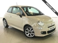 USED 2015 15 FIAT 500 1.2 S 3d 69 BHP 1 Owner/Part Leather/Air Con