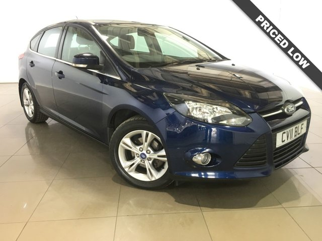 View our 2011 11 FORD FOCUS 1.6 ZETEC 5d 104 BHP