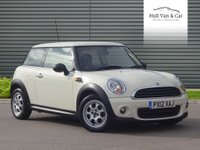 2012 MINI HATCH ONE 1.6 ONE 3d 98 BHP £6495.00