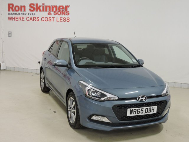 View our 2015 65 HYUNDAI I20 1.2 MPI PREMIUM BLUE DRIVE 5d 83 BHP