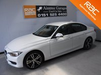 USED 2015 15 BMW 3 SERIES 2.0 316D SE 4d AUTO 114 BHP REAL EXAMPLE OF A STUNNING AND VERY WELL LOOKED AFTER  VEHICLE FININISH IN GLEAMING WHITE WITH FULL BLACK HEATED LEATHER FULL SERVICE HISTORY,ELEC WINDOWS ALL ROUND, CRUSE CONTROL, MULTI FUNCTION STEERING,PARKING SENSORS UPGRADED ALLOYS AT AN additional cost PRIVACY GLASS