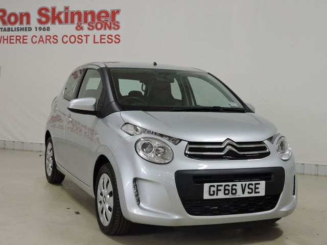 View our 2016 66 CITROEN C1 1.0 FEEL 5d 68 BHP