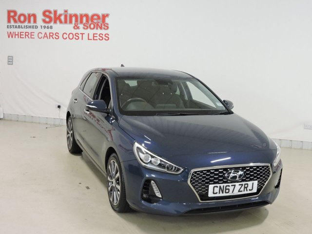 View our 2017 67 HYUNDAI I30 1.4 T-GDI PREMIUM 5d 139 BHP
