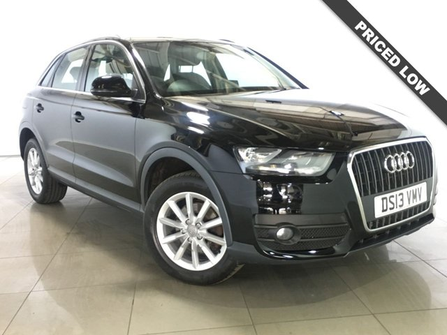 View our 2013 13 AUDI Q3 2.0 TDI SE 5d 138 BHP