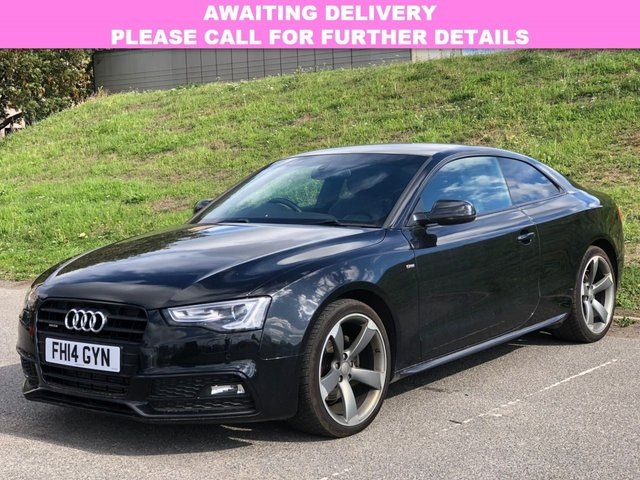View our 2014 14 AUDI A5 2.0 TDI QUATTRO S LINE BLACK EDITION S/S 2d AUTO 174 BHP