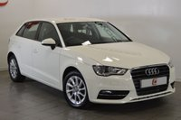 USED 2013 63 AUDI A3 2.0 TDI SE 5d 150 BHP STUNNING IN WHITE WITH HISTORY + 2 KEYS