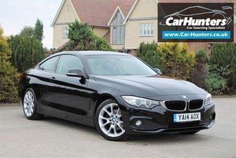 2014 BMW 4 SERIES 2.0 420D SE 2d 181 BHP £13495.00