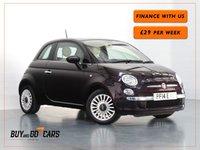 2014 FIAT 500 1.2 LOUNGE 3d 69 BHP £5649.00