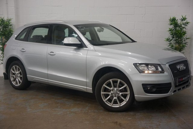 2012 12 AUDI Q5 2.0 TDI QUATTRO SE 5d 141 BHP FULL MILANO LEATHER SEATS FULL SERVICE HISTORY SOLD TO GARY WALKER FROM ROTHERHAM
