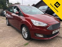 USED 2015 15 FORD GRAND C-MAX 1.5 TITANIUM TDCI 5dr 118 BHP New Shape, 7 Seater, Full Ford history.