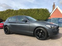 2014 BMW 1 SERIES 2.0 120D SPORT 5d  ONE PRIVATE OWNER FROM NEW £10000.00