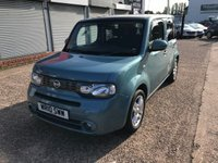 USED 2010 10 NISSAN CUBE 1.6 16V 5d 109 BHP 1 FORMER KEEPER-SERVICE HISTORY-DAB RADIO-PETROL-CRUISE CONTROL