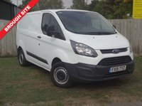 USED 2015 15 FORD TRANSIT CUSTOM 2.2 270 LR P/V 1d 99 BHP ONE OWNER, FSH, BLUETOOTH