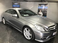 USED 2011 11 MERCEDES-BENZ E CLASS 3.0 E350 CDI BLUEEFFICIENCY SPORT 2d AUTO 265 BHP Bluetooth  :  Satellite Navigation  :  DAB Radio :  Full leather upholstery  :  Heated front seats    :    Electric driver + passenger seats    :    Paddleshift controls :        Front + rear parking sensors :  Remotely operated boot lid  :  Comprehensive service history