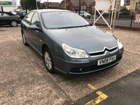 USED 2008 08 CITROEN C5 2.0 EXCLUSIVE HDI 5d AUTO 135 BHP AUTOMATIC-DIESEL-1 FORMER KEEPER-CLIMATE CONTROL-5 DOOR