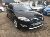 USED 2009 09 FORD MONDEO 2.2 TITANIUM X SPORT TDCI 5d 173 BHP FULL SERVICE HISTORY X 10 STAMPS IN THE BOOK  / KEYLESS ENTRY/  PRIVACY GLASS / VOICE COMM / CRUISE CONTROL