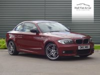 2012 BMW 1 SERIES 2.0 123D SPORT PLUS EDITION 2d AUTO 202 BHP £11495.00