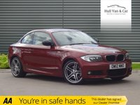 "USED 2012 12 BMW 1 SERIES 2.0 123D SPORT PLUS EDITION 2d AUTO 202 BHP LEATHER, BLUETOOTH, 18"" ALLOYS"