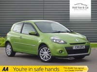 "USED 2011 11 RENAULT CLIO 1.1 DYNAMIQUE TOMTOM TCE 3d 100 BHP AIR CON, BLUETOOTH, 16"" ALLOYS"