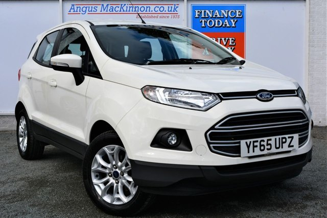 2015 65 FORD ECOSPORT 1.0 ZETEC Petrol Great Value 5dr Family SUV with high 52mpg