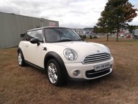 USED 2010 60 MINI HATCH COOPER 1.6 COOPER D 3d 112 BHP 1 OWNER FROM NEW, HALF LEATHER!
