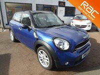 2015 MINI COUNTRYMAN 2.0 COOPER SD 5d 141 BHP £13250.00