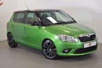 USED 2010 60 SKODA FABIA 1.4 VRS DSG 5d AUTO 180 BHP RALLYE GREEN + LOW MILES + FULL HISTORY