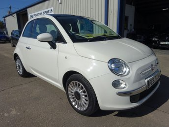 2012 FIAT 500 1.2 LOUNGE 3d + LOW MILEAGE + 35K FULL FIAT S HISTORY + GLASS ROOF £5980.00
