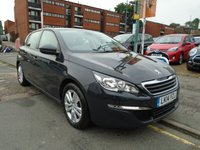 USED 2014 14 PEUGEOT 308 1.6 BLUE HDI ACTIVE 5d 120 BHP