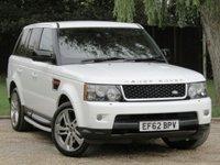2012 LAND ROVER RANGE ROVER SPORT 3.0 SDV6 HSE RED 5d AUTO 255 BHP £21990.00