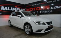 2015 SEAT LEON 1.6 TDI SE TECHNOLOGY 5DOOR 105 BHP CANDY WHITE £SOLD