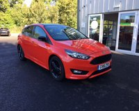 USED 2016 16 FORD FOCUS 1.5 ZETEC S RED EDITION ECOBOOST 180 BHP THIS VEHICLE IS AT SITE 1 - TO VIEW CALL US ON 01903 892224