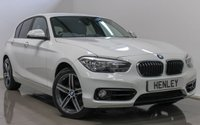 USED 2016 65 BMW 1 SERIES 2.0 118D SPORT 5d 147 BHP
