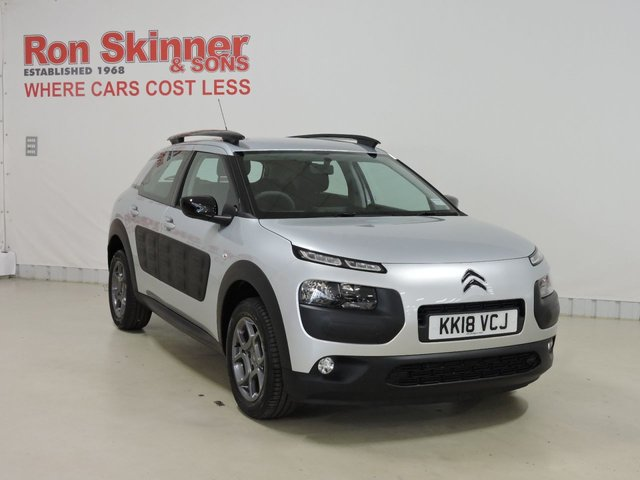 View our 2018 18 CITROEN C4 CACTUS 1.2 PURETECH FEEL 5d 80 BHP