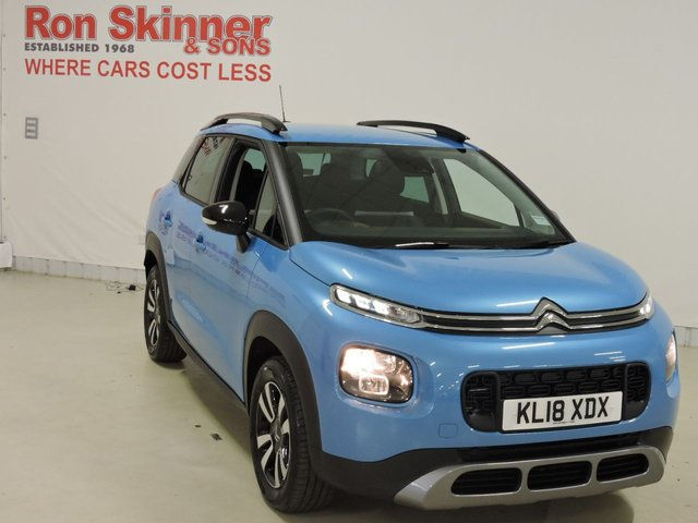 View our 2018 18 CITROEN C3 AIRCROSS 1.2 PURETECH FEEL S/S 5d 109 BHP