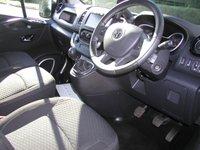 USED 2014 J VAUXHALL VIVARO 1.6 2700 L1H1 CDTI SPORTIVE 118bhp Bi Turbo Van Only 9000 miles, SATNAV, Air Con, Lighting Upgrade, 1 Owner