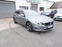 2016 VOLVO V60 2.0 D3 R-DESIGN NAV 5dr Estate Geartronic (150 BHP) £16495.00