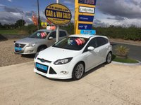 2012 FORD FOCUS ZETEC S 1.6 TDCI IN WHITE **ONLY 55K MILES**LOCAL CAR**FSH* £SOLD