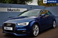 USED 2014 63 AUDI A3 1.4 TFSI S LINE SALOON AUTO  Satellite Navigation