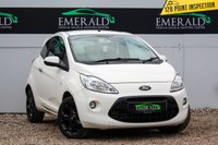 USED 2012 12 FORD KA 1.2 METAL 3d 69 BHP £0 DEPOSIT FINANCE AVAILABLE, AIR CONDITIONING, AUX INPUT, CD/MP3/RADIO, CLIMATE CONTROL, CLOTH UPHOLSTERY, STEERING WHEEL CONTROLS, TRIP COMPUTER