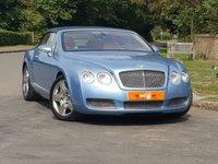 USED 2006 56 BENTLEY CONTINENTAL 6.0 GTC 2d AUTO 550 BHP SATNAV LOW MILES HUGE SPEC