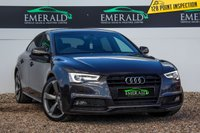 USED 2013 63 AUDI A5 2.0 SPORTBACK TDI S LINE BLACK EDITION S/S 5d AUTO 148 BHP £0 DEPOSIT FINANCE AVAILABLE, AIR CONDITIONING, BLUETOOTH CONNECTIVITY, CLIMATE CONTROL, CRUISE CONTROL, DAB RADIO, DAYTIME RUNNING LIGHTS, ELECTRONIC PARKING BRAKE, FULL S LINE LEATHER UPHOLSTERY, PARKING SENSORS FRONT AND REAR, STEERING WHEEL CONTROLS, TRIP COMPUTER, XENON ADAPTIVE HEADLIGHTS
